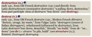 struct etymology